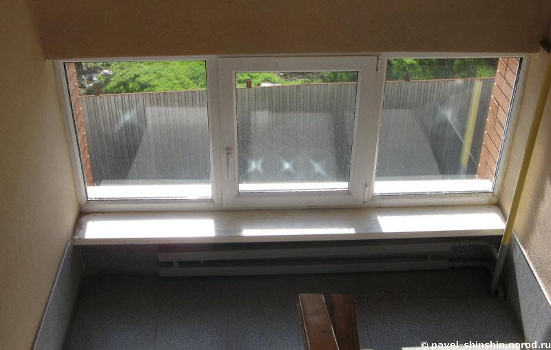 Отражение от окна
