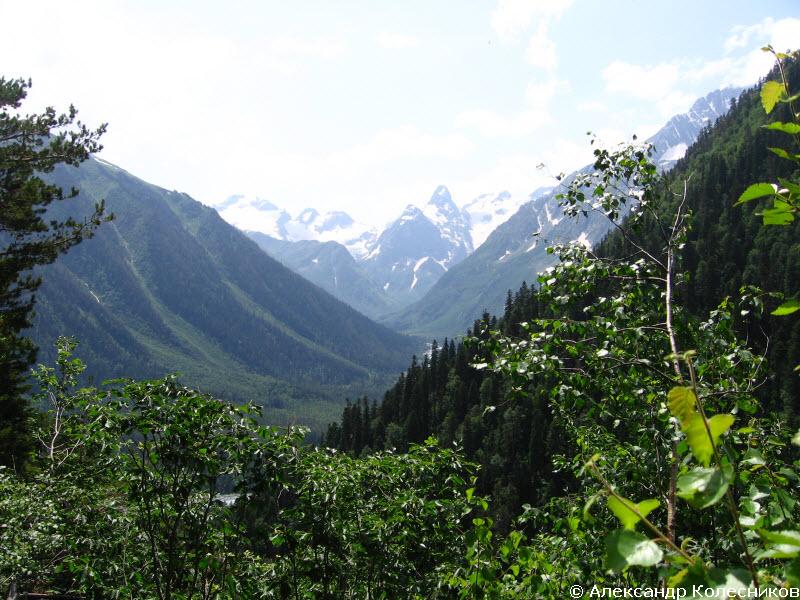 Долина реки Псыш