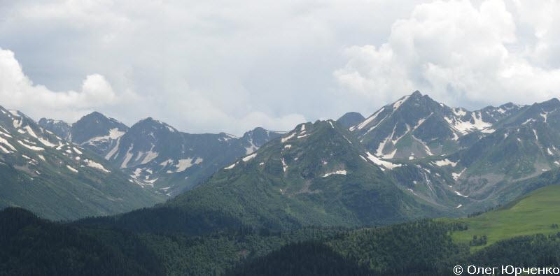 Панорама на юг