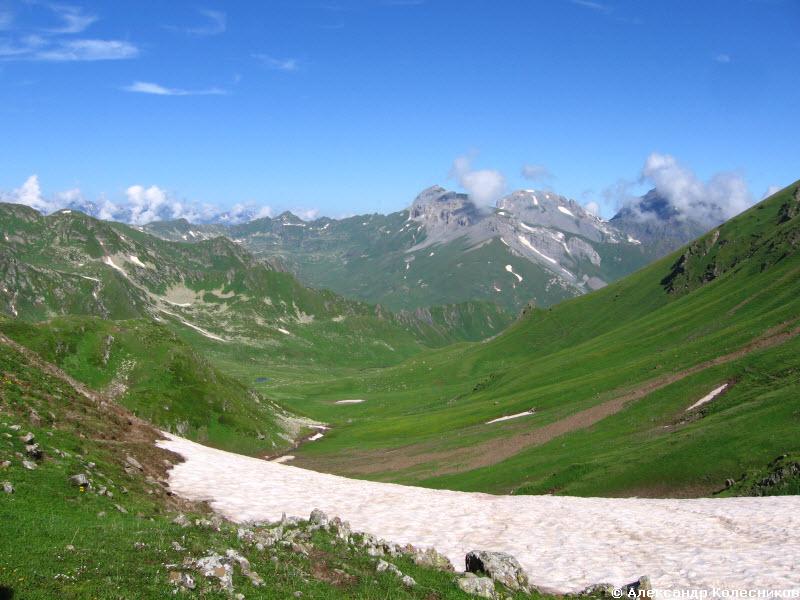 Вид на долину Ацгары