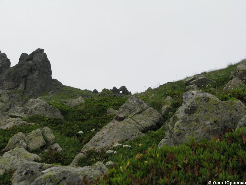Дырка на ложном перевале Загедан
