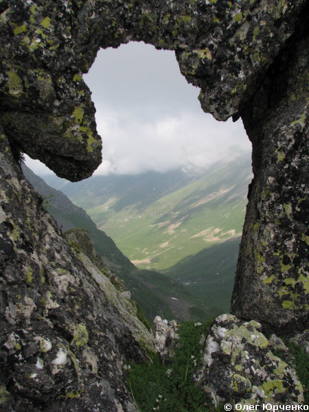 Вид на долину Загеданки