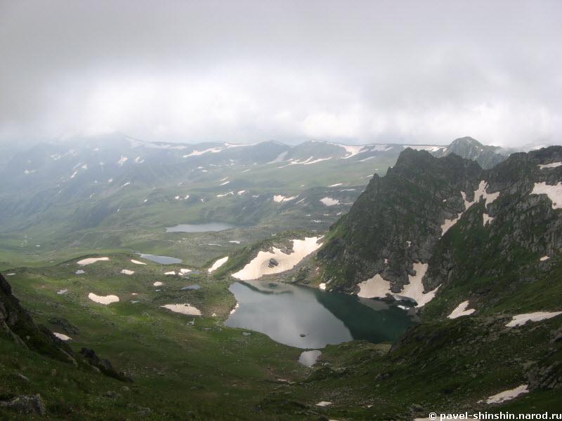 вид с перевала Загедан на Ацгару