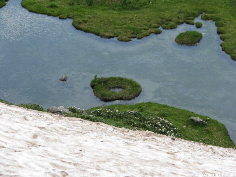 Островок на озерце