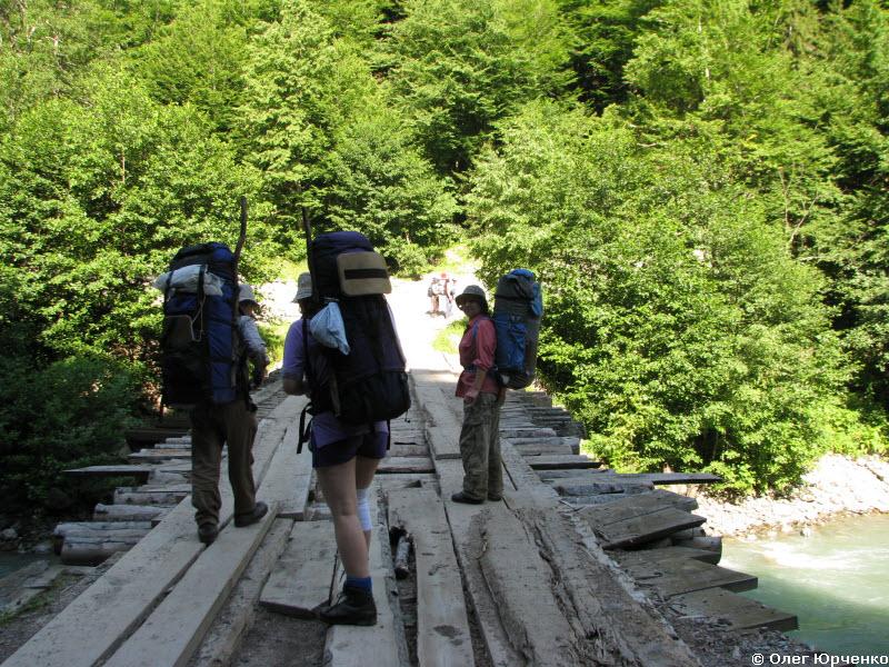 Мост через Большую Лабу