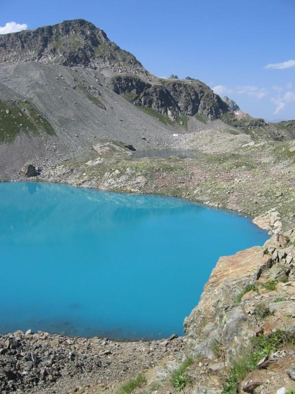 озера летом