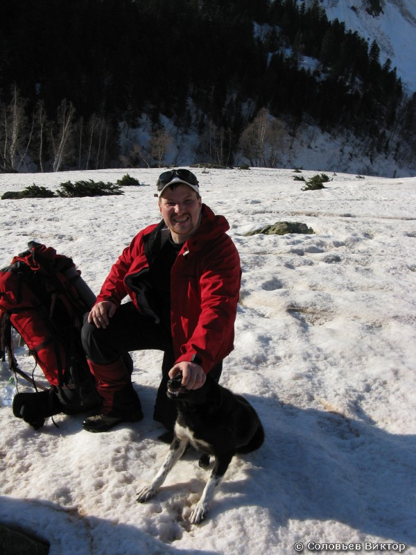 Витя и собака Иркиз