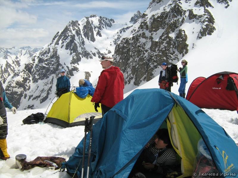 Лагерь под Иркизом