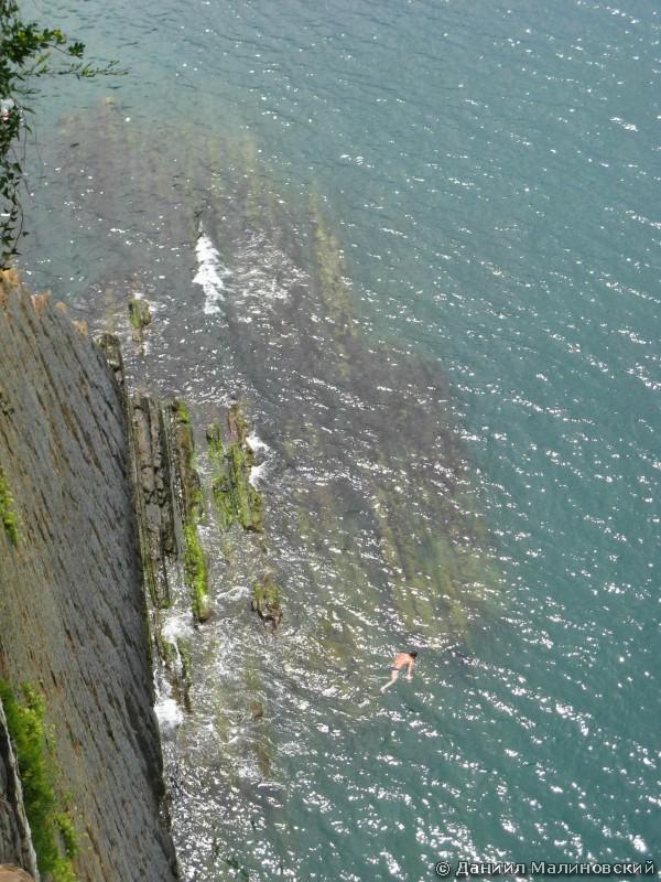 Вид со скалы Киселёва