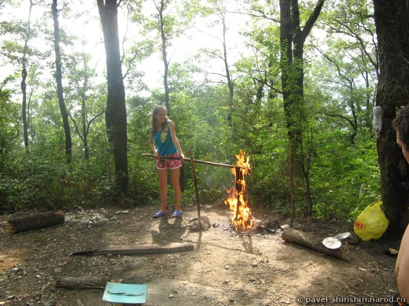 Сжигание штанов