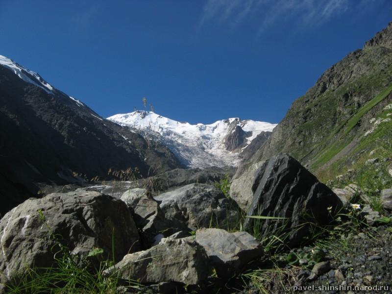 Вид из палатки на Майлихох