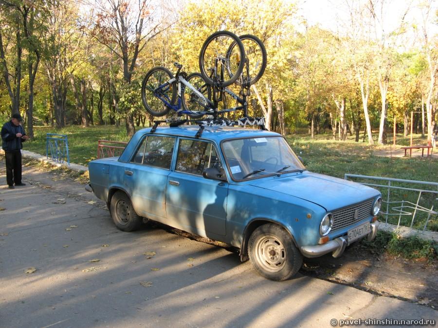 Велосипеды на простом багажнике